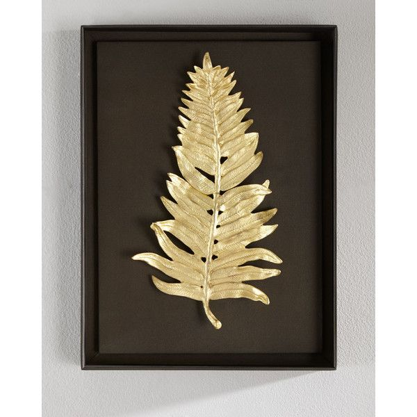 Michael Aram Fern Wall Art (555 CAD) ❤ liked on Polyvore featuring ...