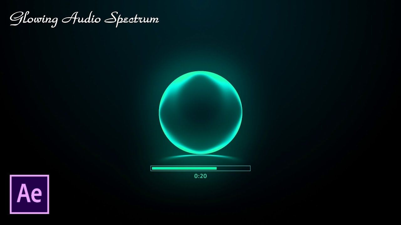 After Effects Tutorial: Glowing Audio Spectrum In After Effects (No