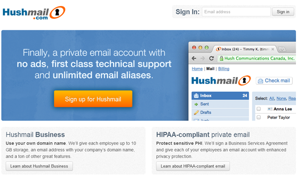7 Best Gmail Alternatives in 2013 Check mail, Seo