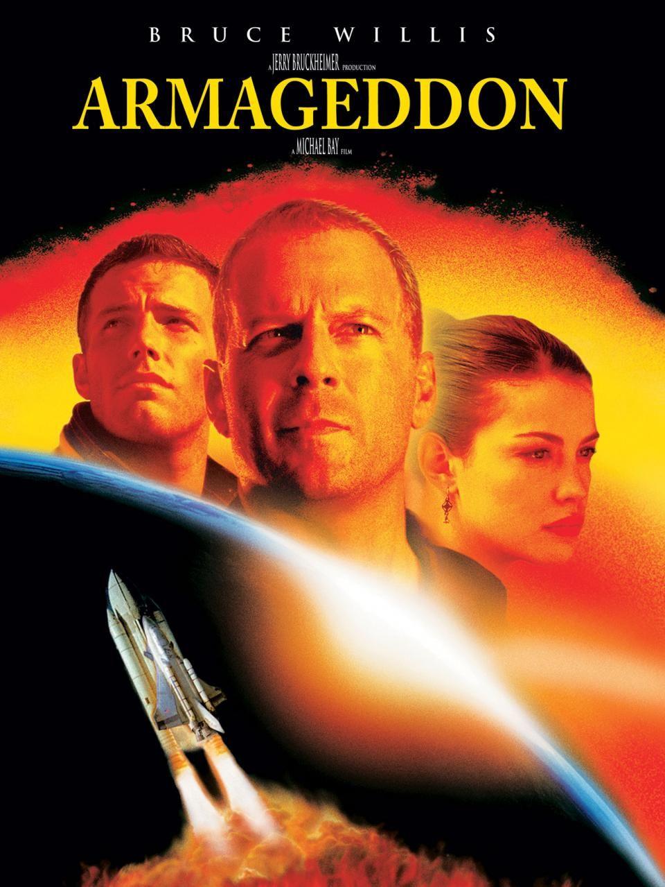 Hasil gambar untuk POSTER FILM ARMAGEDDON