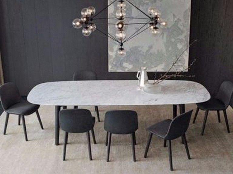 38 Stunning Contemporary Modern Dining Room Design Ideas Dining Table Marble Dining Room Design Modern Modern Dining Room