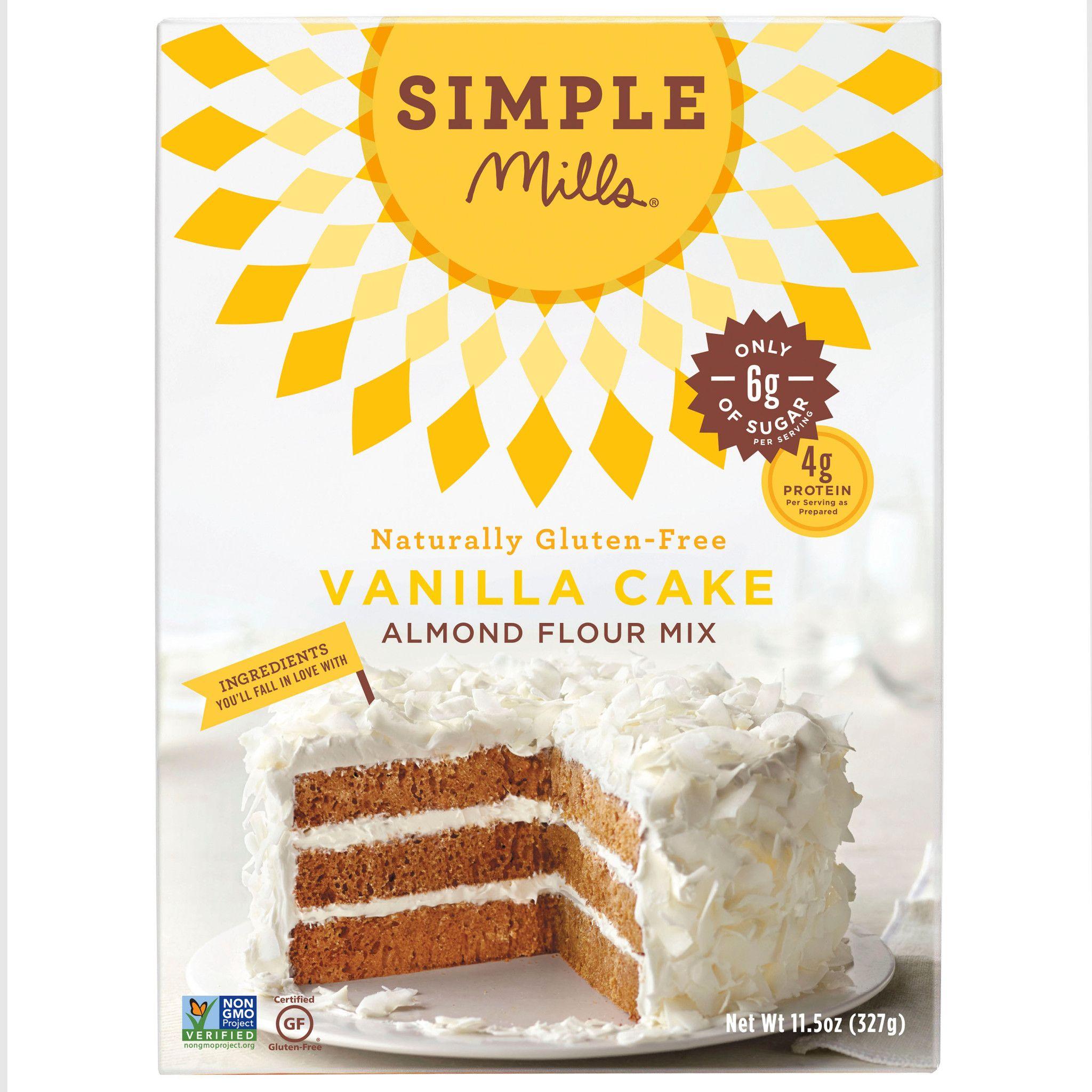 Almond flour vanilla cake mix vanilla cake mixes gluten