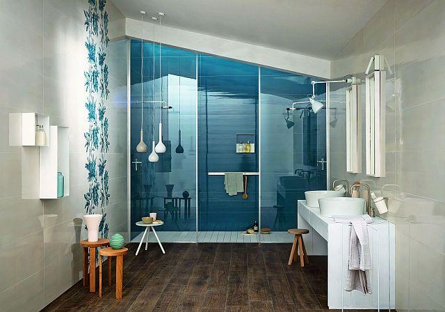 Bagno moderno blu cerca con google bagno mansarda
