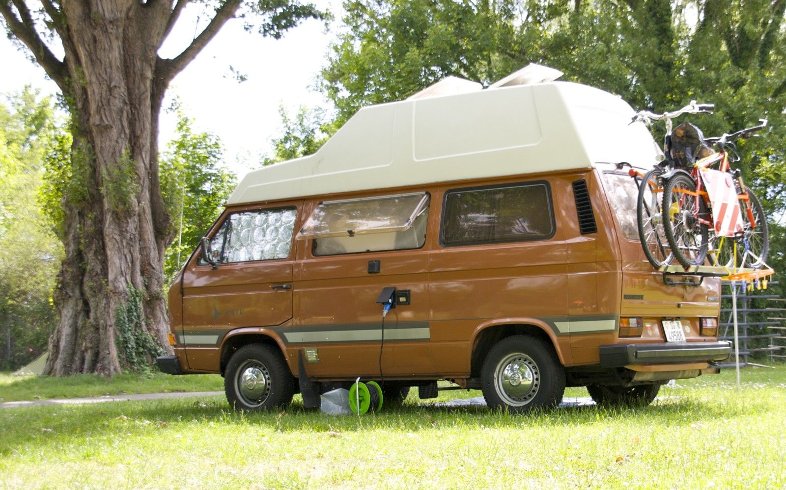 t3 vw joker westfalia campsite volkswagen bus campsite. Black Bedroom Furniture Sets. Home Design Ideas