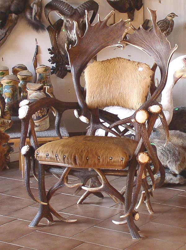 Delicieux Antler Chair
