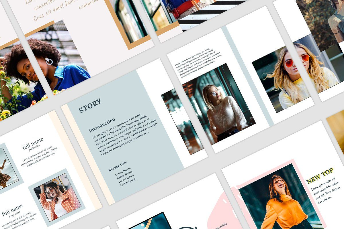 Ad instagram carousels pack by hello next brand on