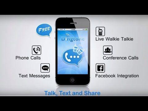 DINGTONE, Free Phone Calls, Free Texting, Walkie Talkie