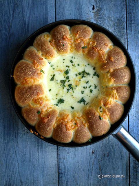 Chlebki z dipem serowym Zjemto.blox.pl