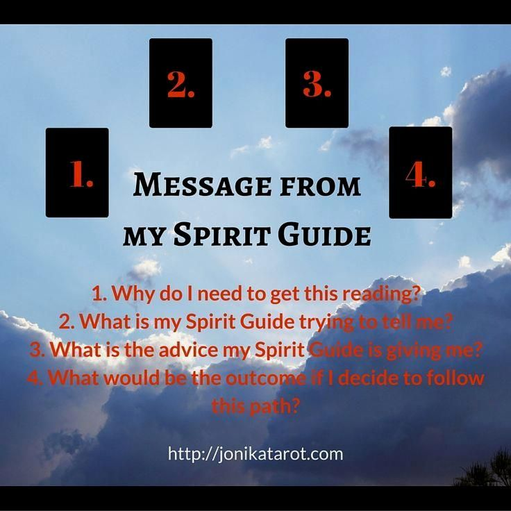#Tarot #Spread: Message From My Spirit Guide. A very…