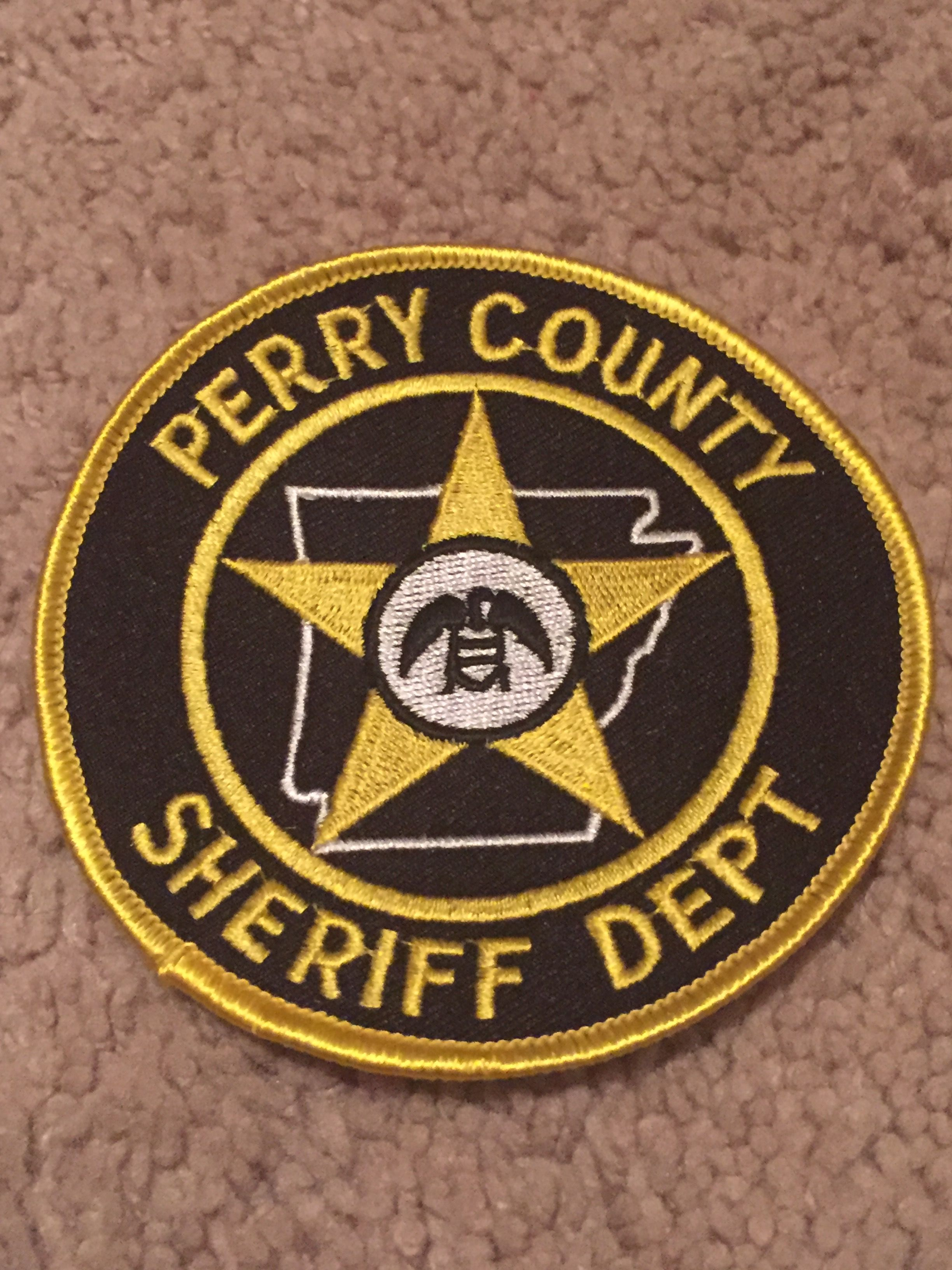 Perry County SO | Arkansas Sheriff Department's Patches | Sheriff