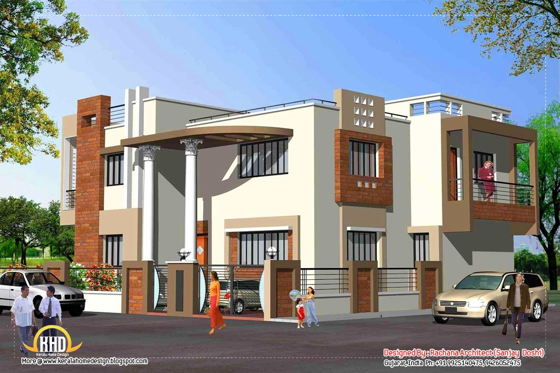 india home design with house plans 3200 sq ft kerala home - Home Design In India