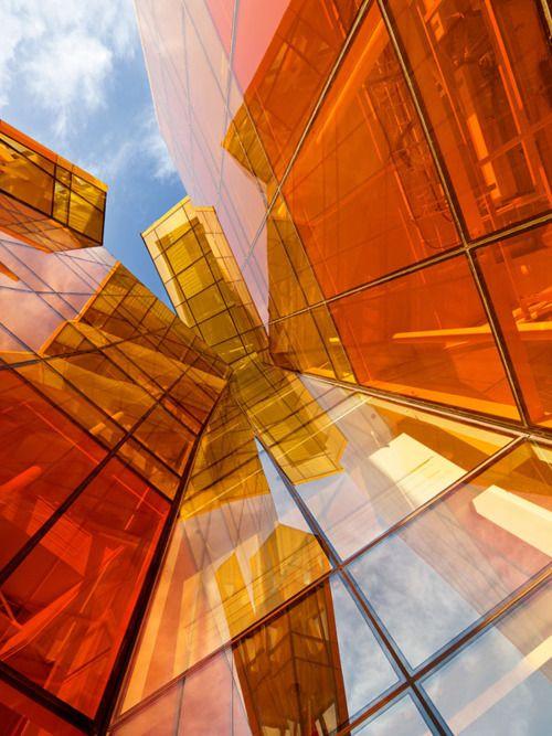 orange angles, architecture