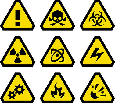 Free Image On Pixabay Danger Explosion Explosive Fire Warning Signs Clip Art Signs