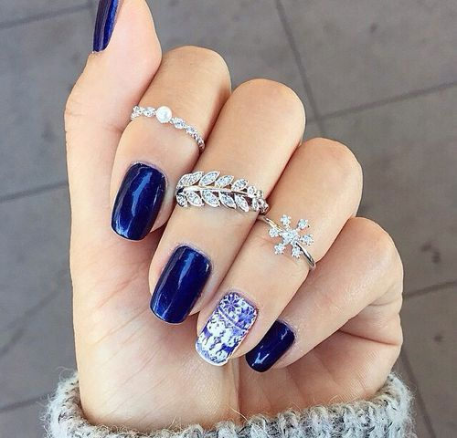 Nail Design Ideas 2015 20 pretty nail designs ideas 2015 I Am Unleashing Before You Blue Winter Nail Art Designs Ideas Trends Stickers Of Certainly These