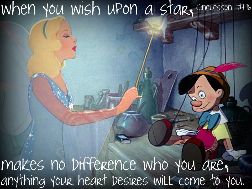 Lyric pinocchio lyrics : 176 when you wish upon a star, makes no difference who you are ...