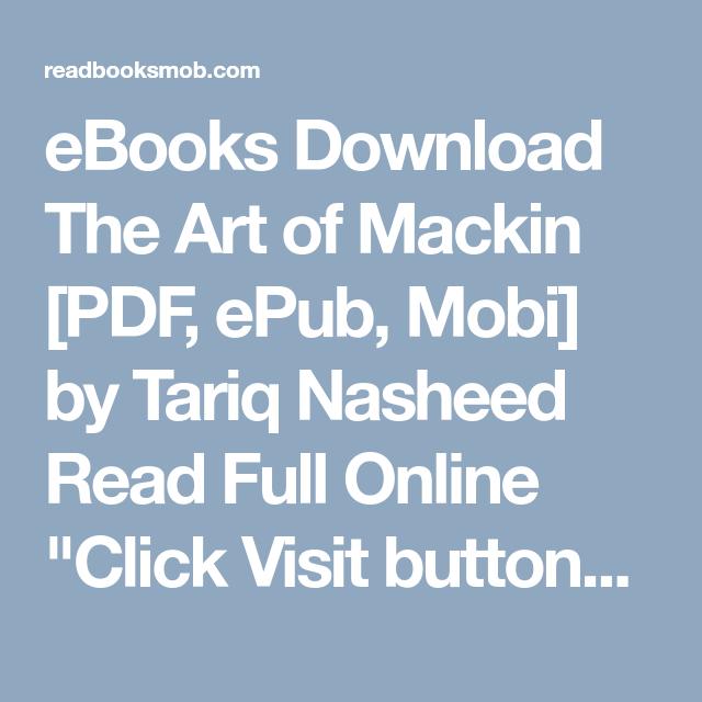 Ebooks download the art of mackin pdf epub mobi by tariq nasheed ebooks download the art of mackin pdf epub mobi by tariq nasheed fandeluxe Gallery