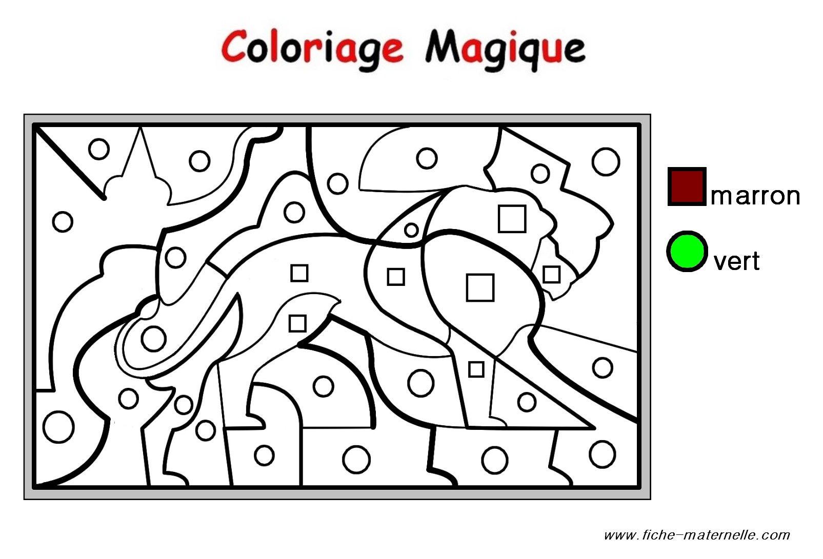 Coloriage Chevalier Gs.Coloriage Magique Pour Les Plus Petits Un Lion Color By Number