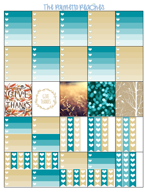 Happy With Printables Calendar November : November planner freebie free stickers planners and peach