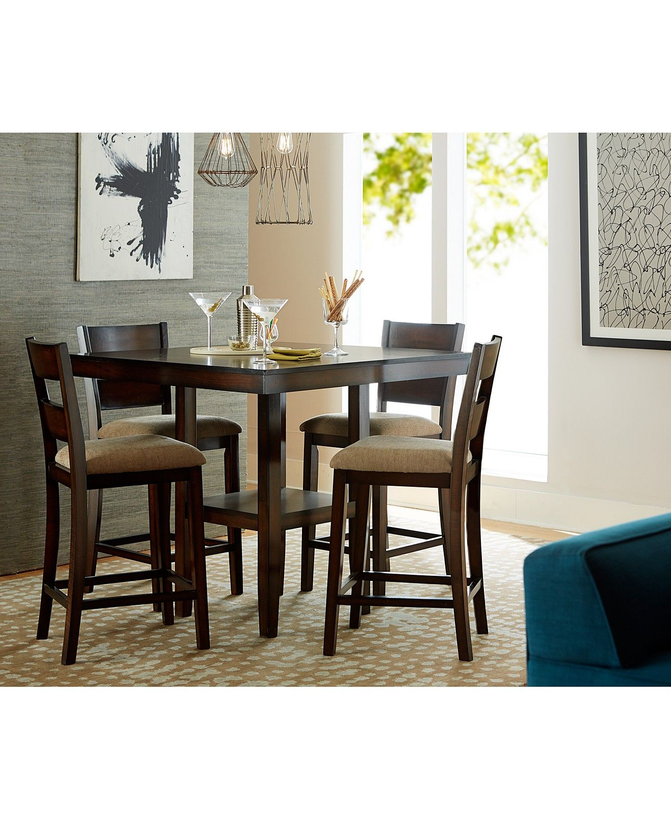 Branton Counter Height Dining Collection Apartment