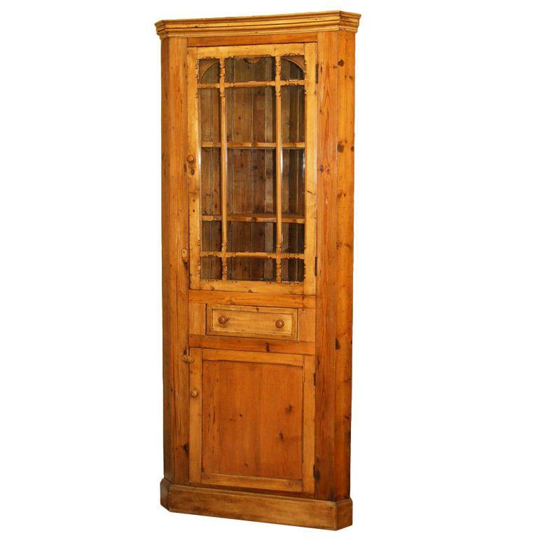 Antique Irish corner cupboard - Antique Irish Corner Cupboard Pinterest Corner Cupboard