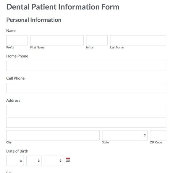 Healthcare forms healthcare form templates formstack Formstack - dental records release form