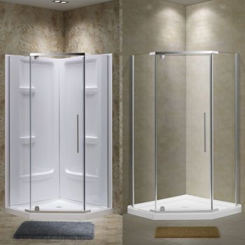 Jade Alyssa Neo Angle Shower Collection Neo Angle Shower Shower Shower Kits