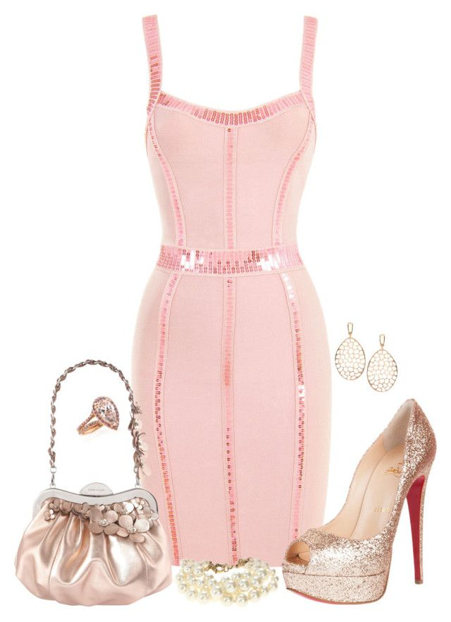 """""""Sin título #428"""" by vickyfa ❤ liked on Polyvore featuring Anouska London Jewellery, Christian Louboutin and J.Crew"""