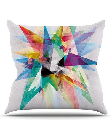 This Colorful Throw Pillow is perfect! #zulilyfinds