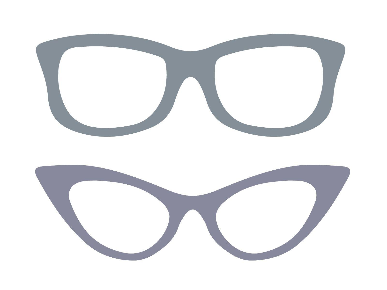 Brillen Clipart Ausmalbilder Und Malvorlagen 0