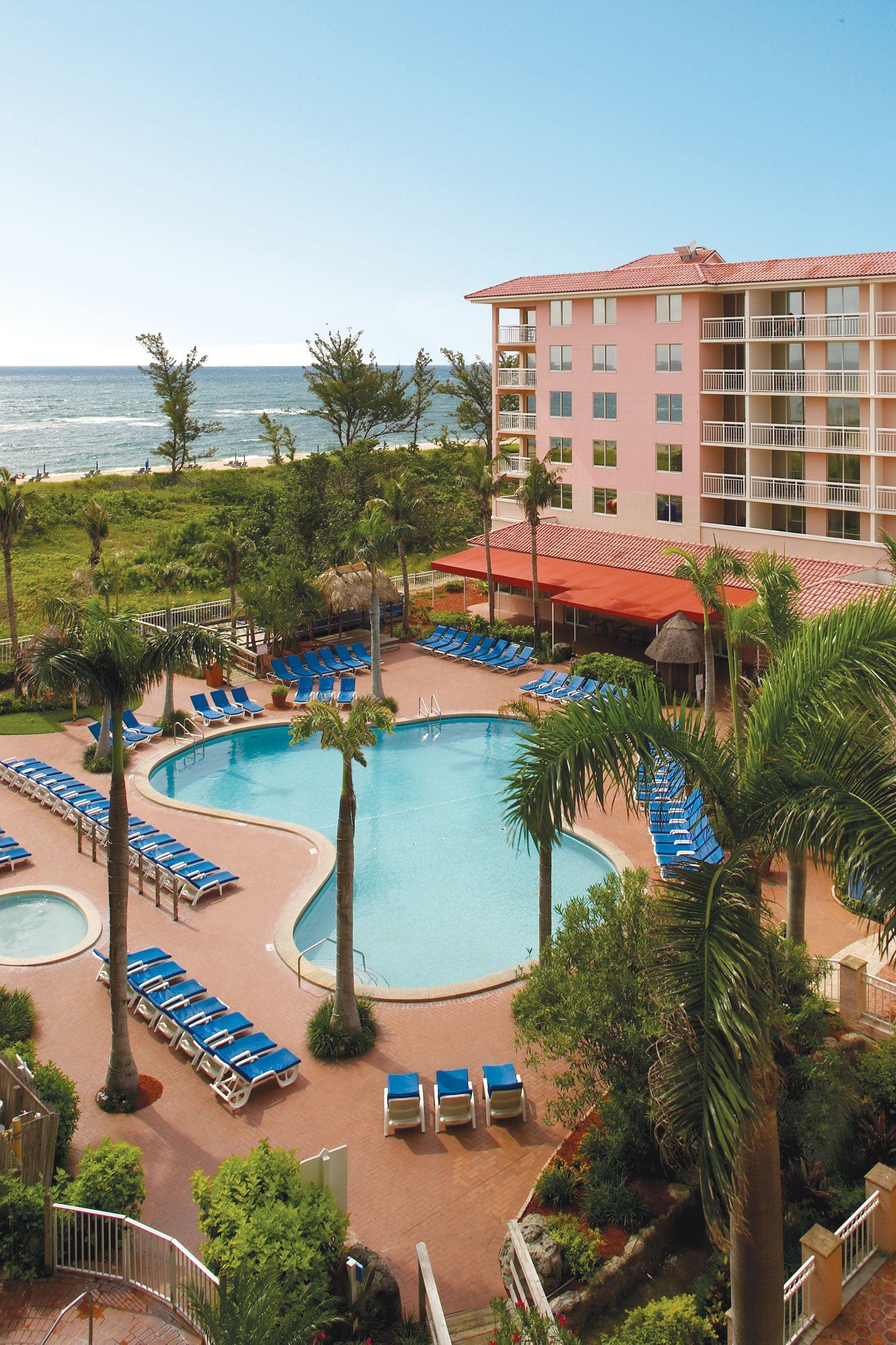 Beautiful Ocean Views At Palm Beach Shores Resort