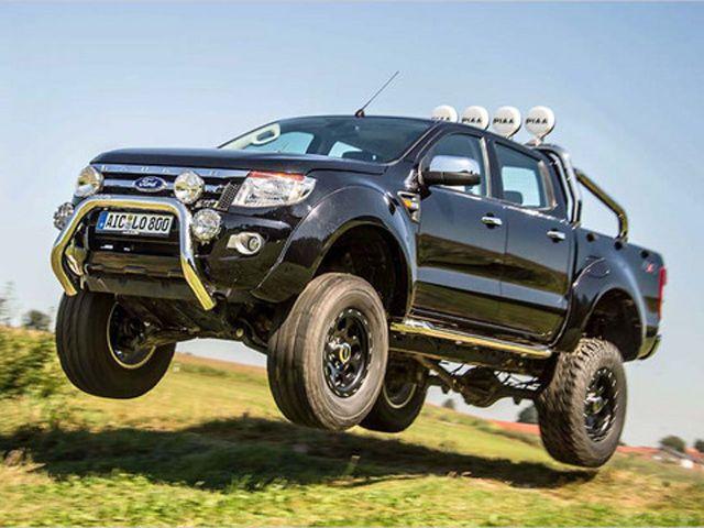 Delta4x4 Ford Ranger Jumping Ford Ranger Ford Ranger Wildtrak Ranger