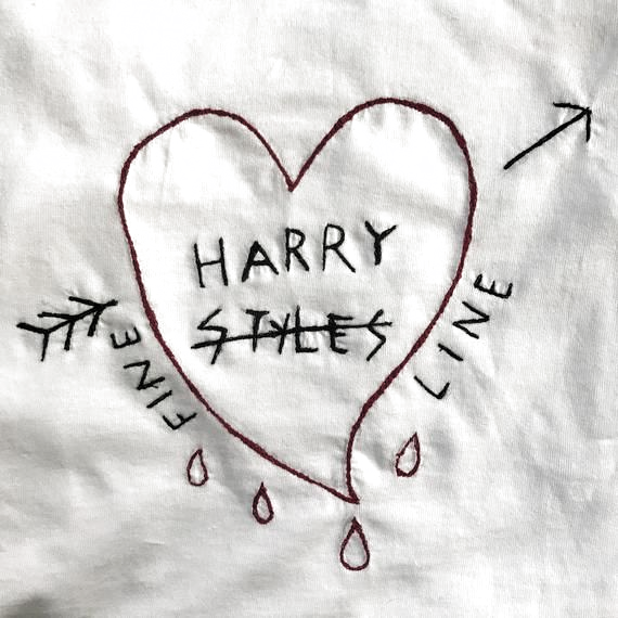 Pin By Gaby Valiente On 1 Embroidered Tshirt Harry Styles Clothes Harry Styles Shirt