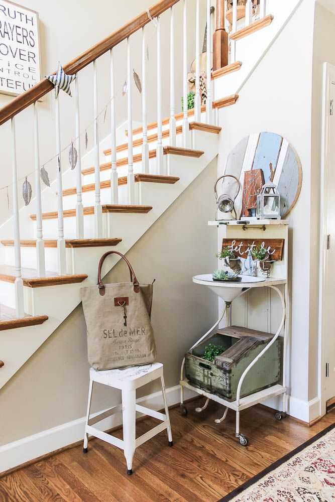 Flea Market Style Foyer Decorating Ideas  Posted in The