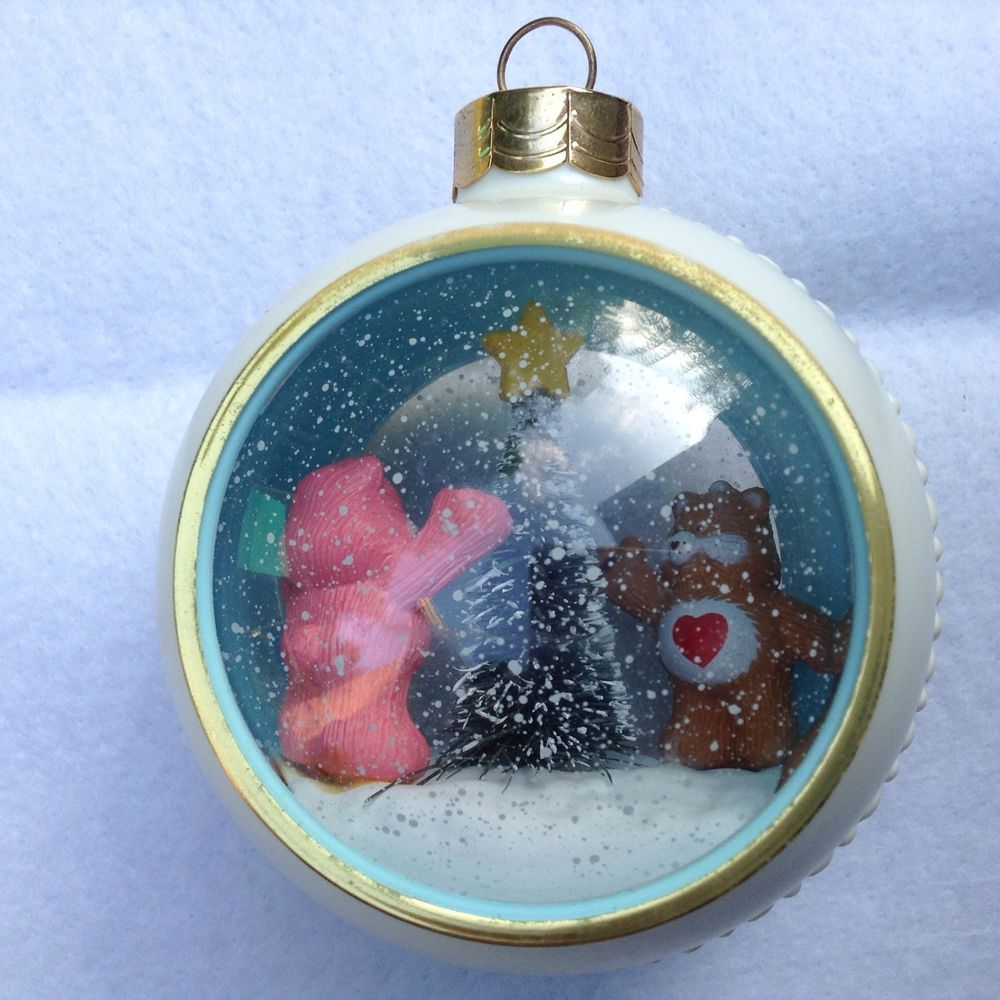 CARE BEARS COLLECTIBLE CHRISTMAS ORNAMENT RARE 1980's ...