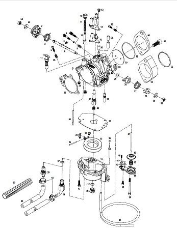 S & S Cycles Super E and Super G Carburetor Replacement