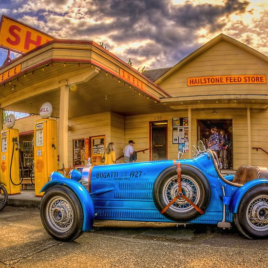 Bugatti, Automotive Art, Vintage Racing