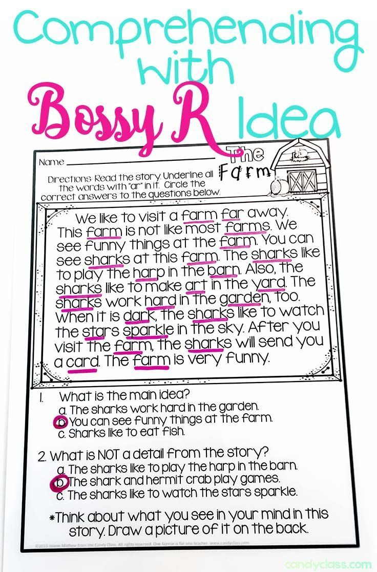 worksheet Bossy R Worksheets building up with bossy r activities a freebie phonics freebie