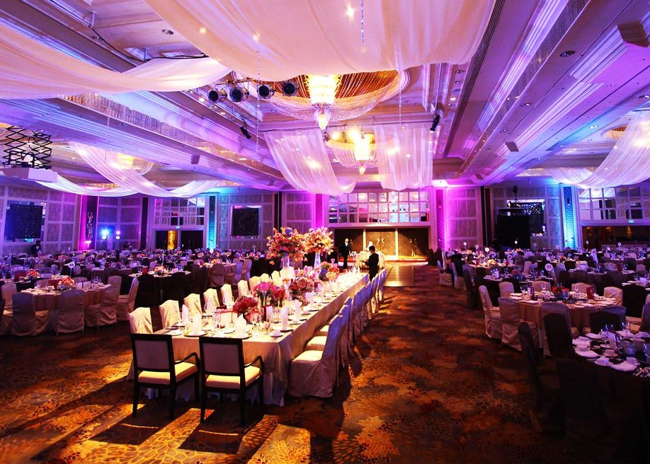 Makati Shangri La Hotel Wedding Reception