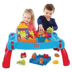 Mega Bloks First Builders Build N Learn Table Target Kids Building Toys Building For Kids Kids Fun Play