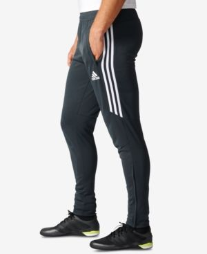 adidas Men's ClimaCool Tiro 17 Soccer Pants Gray L