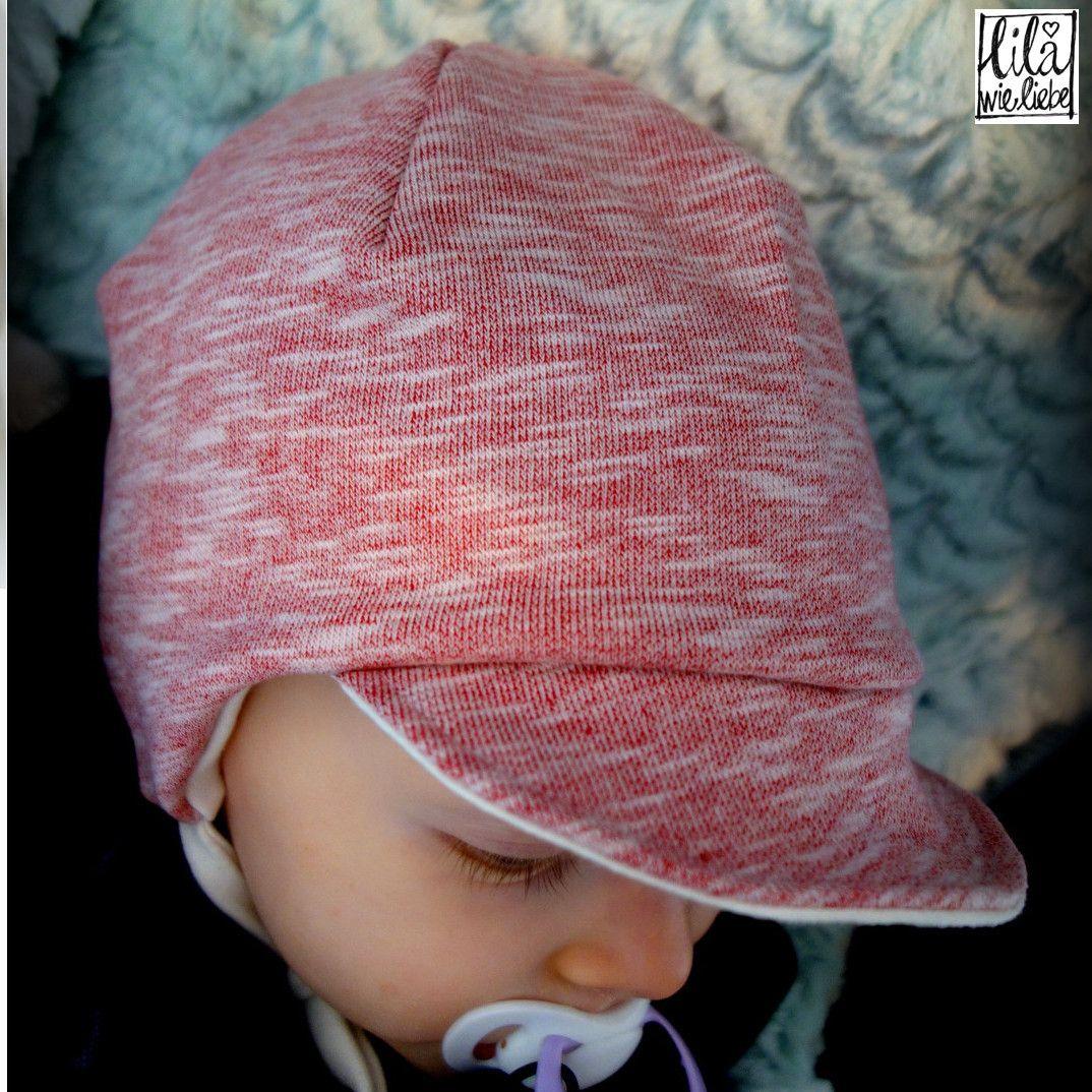 40f5864d358b1c Supermüzz - Freebook: Kindermütze / Wendemütze für warme Ohren nähen - Lila  wie Liebe