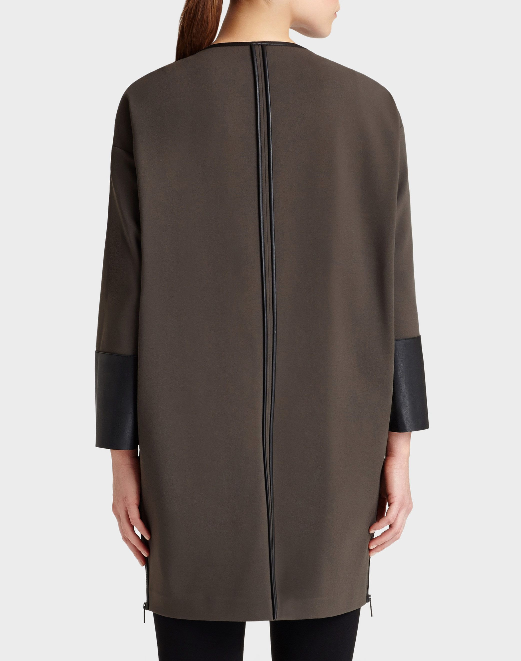 Italian Punto Milano Relaxed Long Jacket - Jackets - Sale - Collection | Lafayette 148 New York