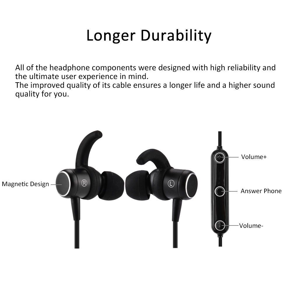 OVOS Bluetooth Headphones Wireless Earbuds Sport