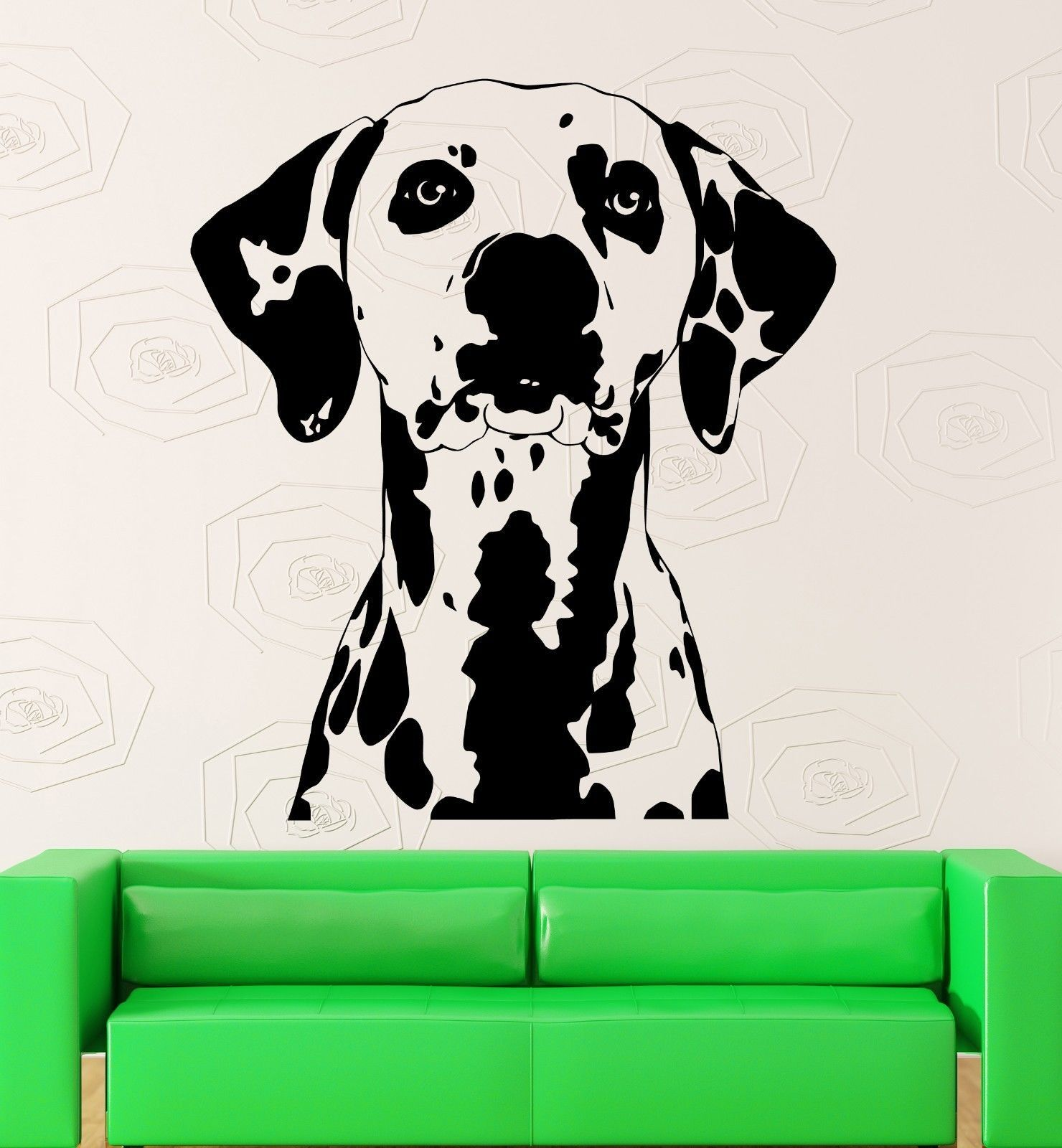 Cute Wall Sticker Decal Dog Animal Pet Dalmatians Great