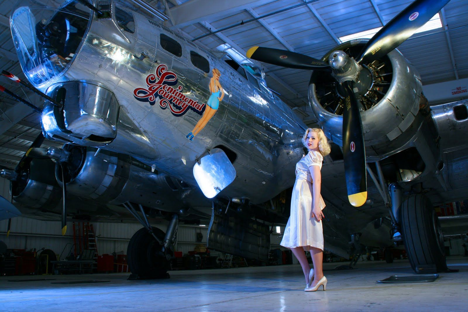 The Ann Darrow Takes Flight Commemorative air force