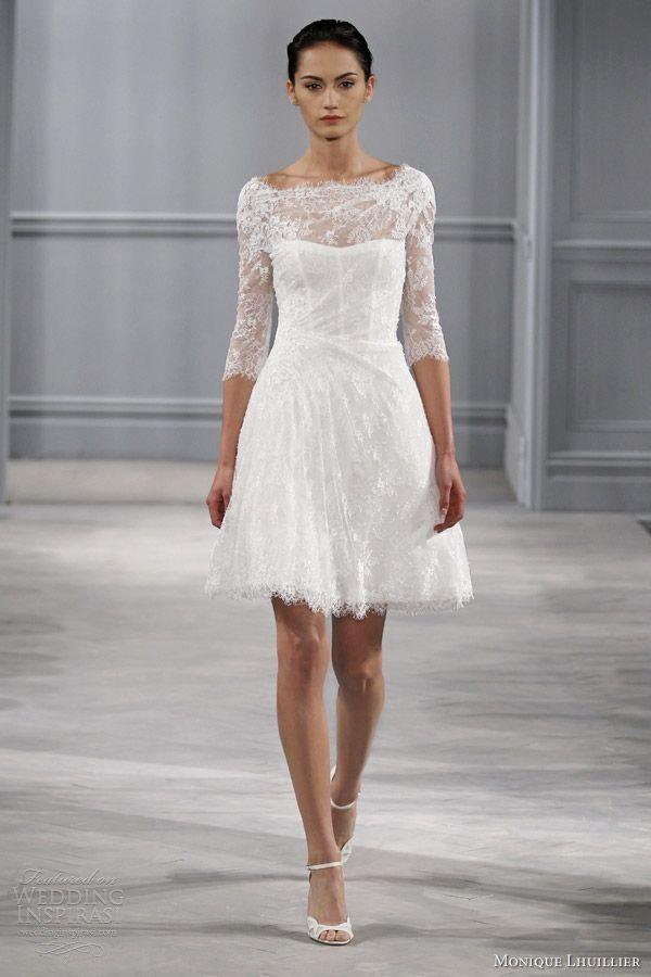 Monique Lhuillier Spring 2014 Wedding Dresses | Monique lhuillier ...