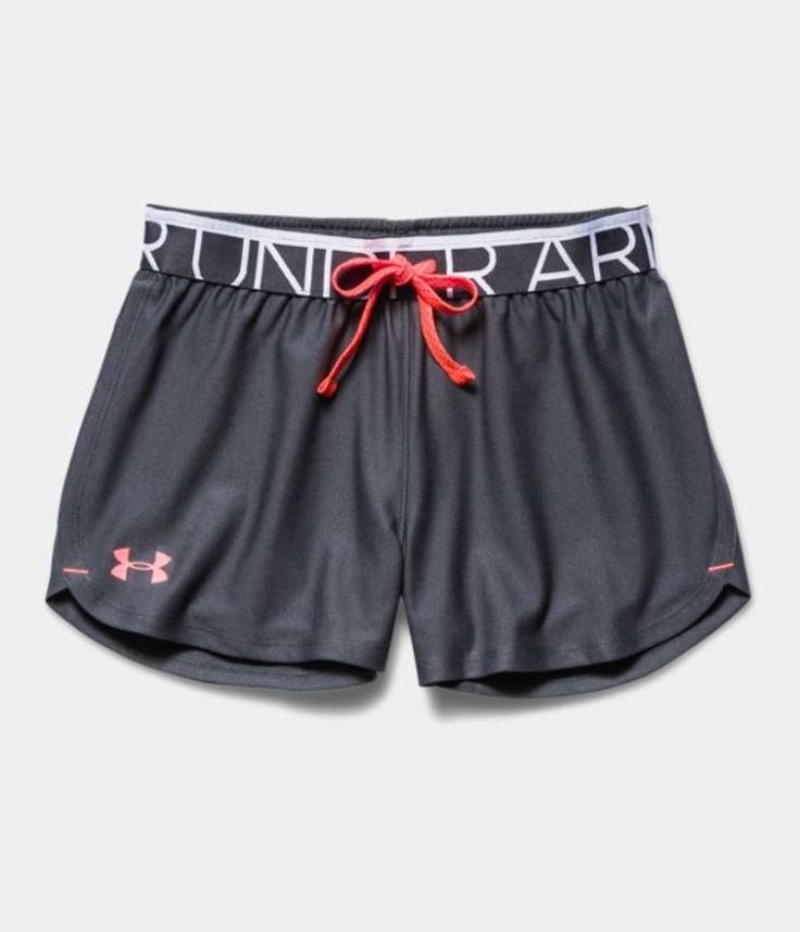 Girls ua play up shorts under armour us under armour