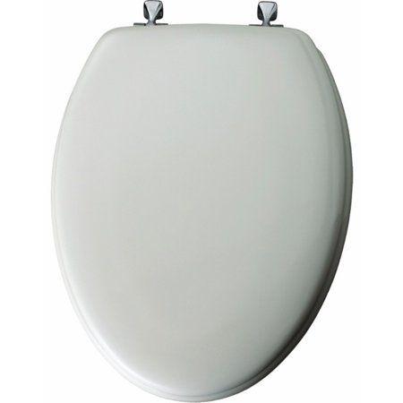 Bemis White Wood Toilet Seat Elongated Toilet Seat Toilet Seat