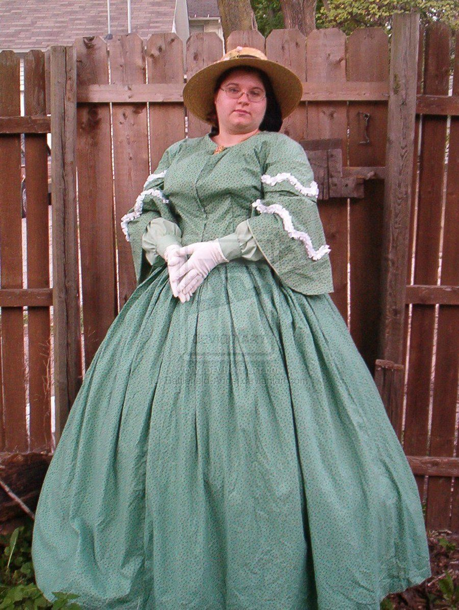 Civil War-era Day Dress by Battlefield-Angel.deviantart.com- My ...