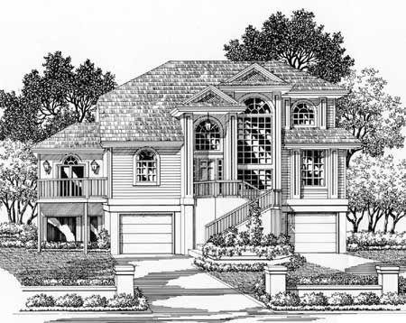 Flood plain home